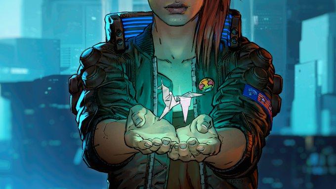 CD Project Red в Twitter выложили новый арт игры Cyberpunk 2077.