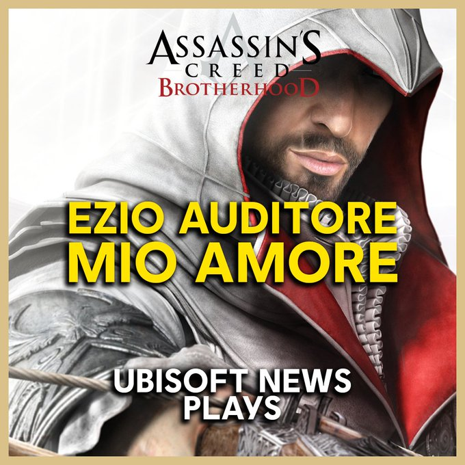 Assassin's Creed Brotherhood исполнилось 9 лет. По этому поводу Ubisoft News team стримит игру на Twitch.