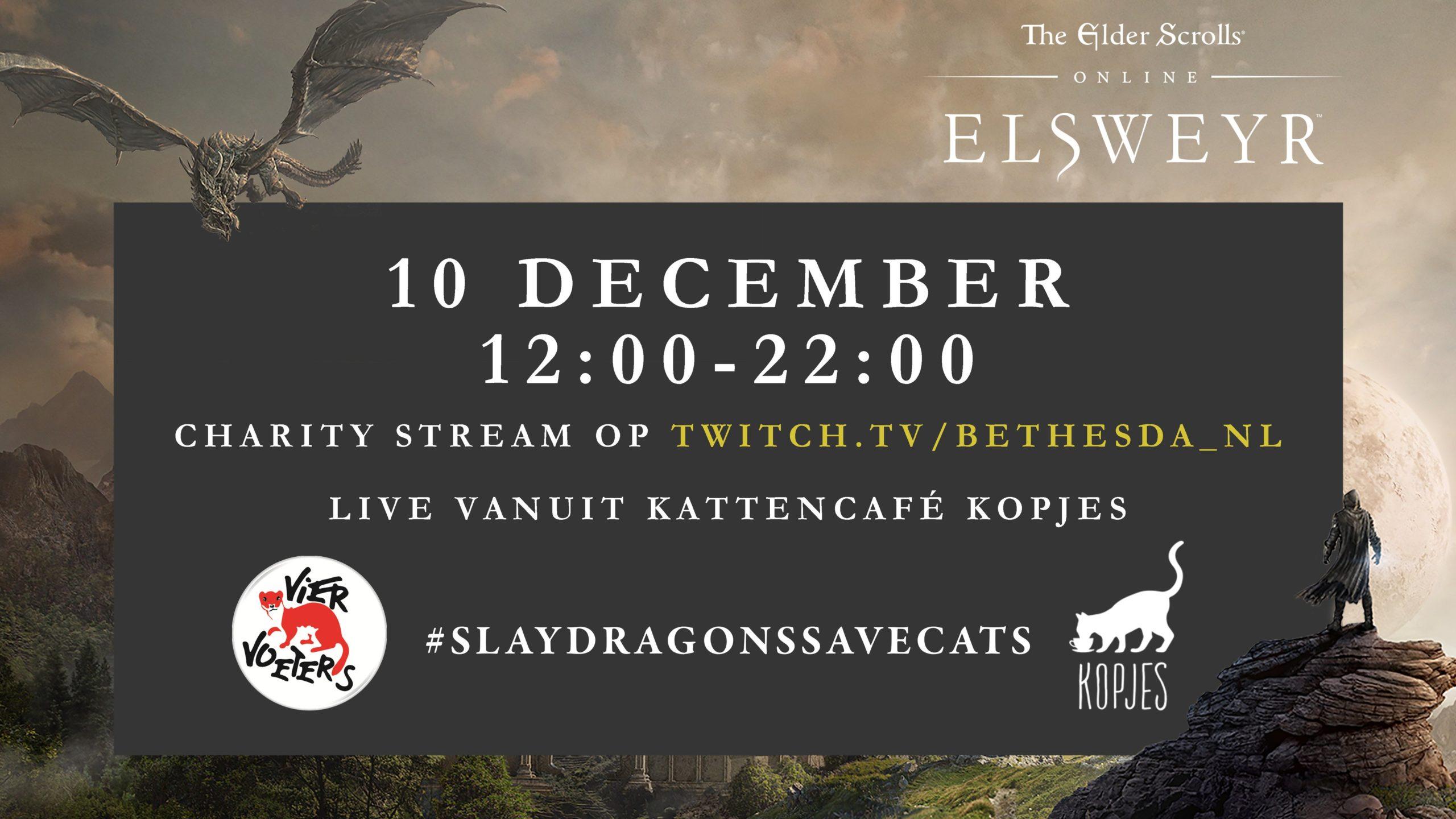 Bethesda проведет благотворительный стрим игры The Elder Scrolls Online:Elsweyr.