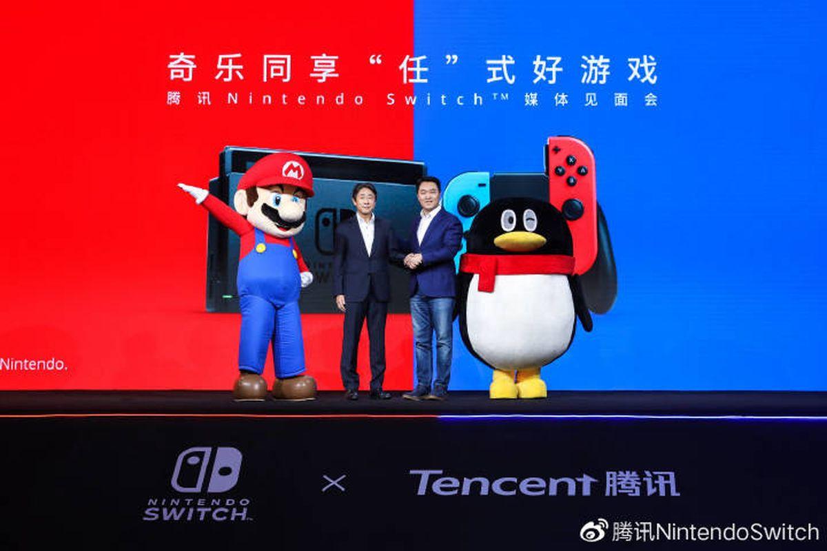 Игровая консоль Nintendo Switch будет продаваться в Китае с 10 декабря 2019 года.
