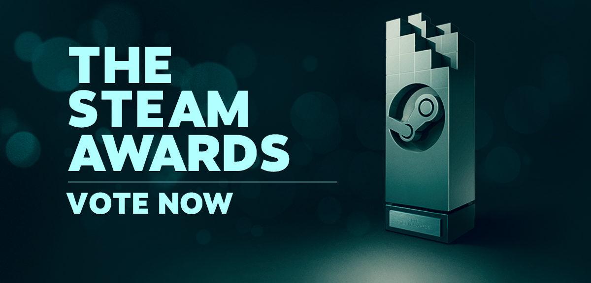 The Steam Awards: 31 декабря 2019 года объявят победителей.