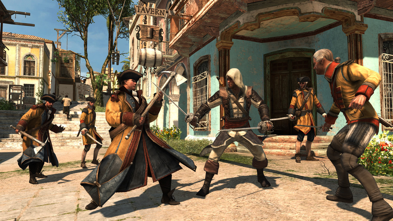 Assassin's Creed Black Flag и Rogue вышли на Nintendo Switch.