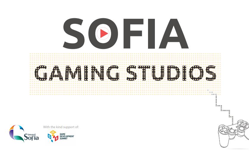 Sofia Investment Agency подготовили презентацию по игровой индустрии в Софии, Болгария.