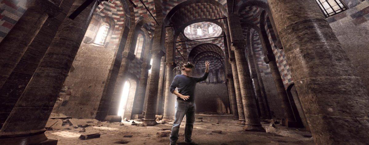 Ubisoft сделали VR реконструкцию древних городов для выставки в Smithsonian's National Museum of Asian Art.