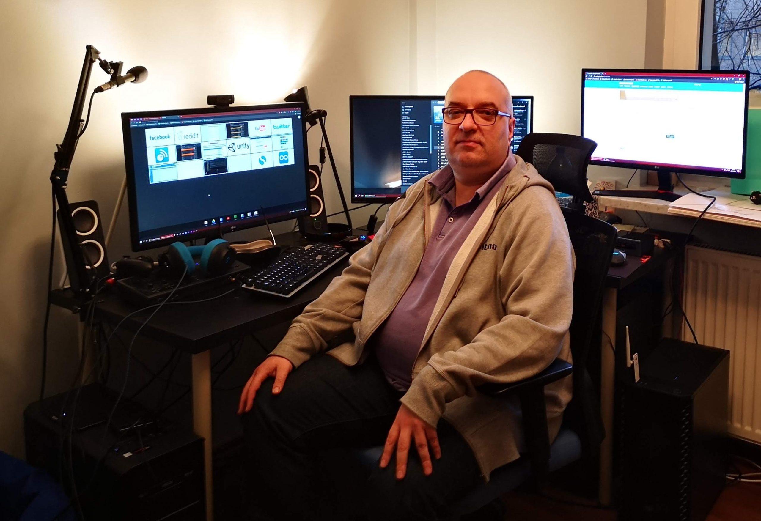 Maciej Miąsik, член правления игрового издательства Movie Games