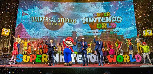 Universal Studios Japan откроет в Осаке тематический парк по Super Nintendo World.