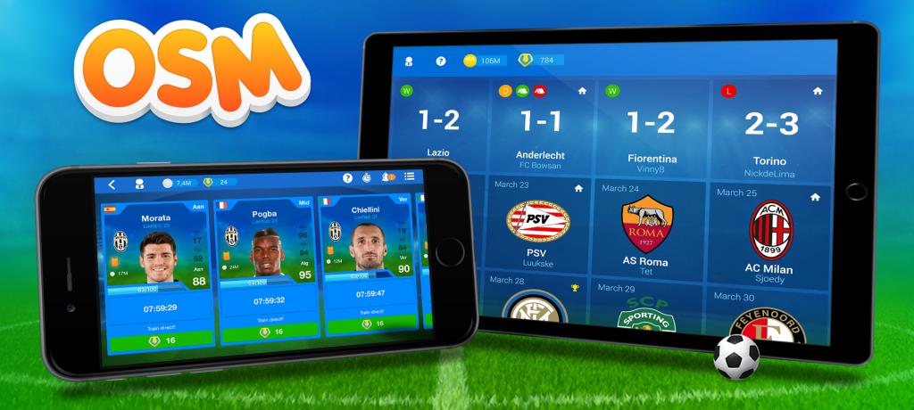 Разработчик игры Online Soccer Manager объявил о сотрудничестве с Cruyff Foundation.