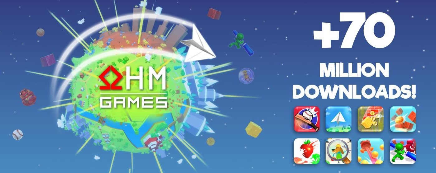 Суммарное количество загрузок игр OHM Games превысило 70 млн.