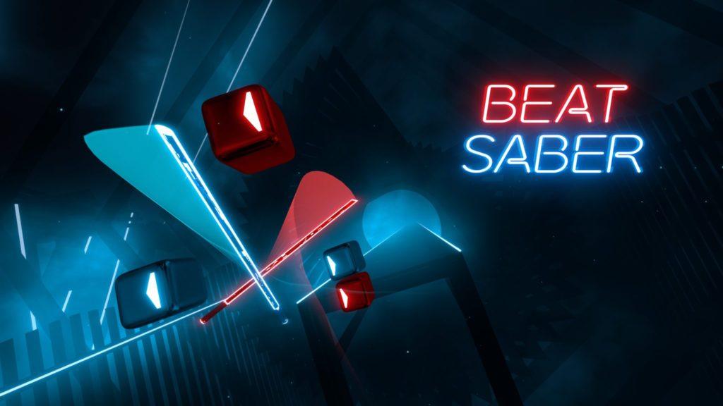 История VR игры Beat Saber в инфографике.