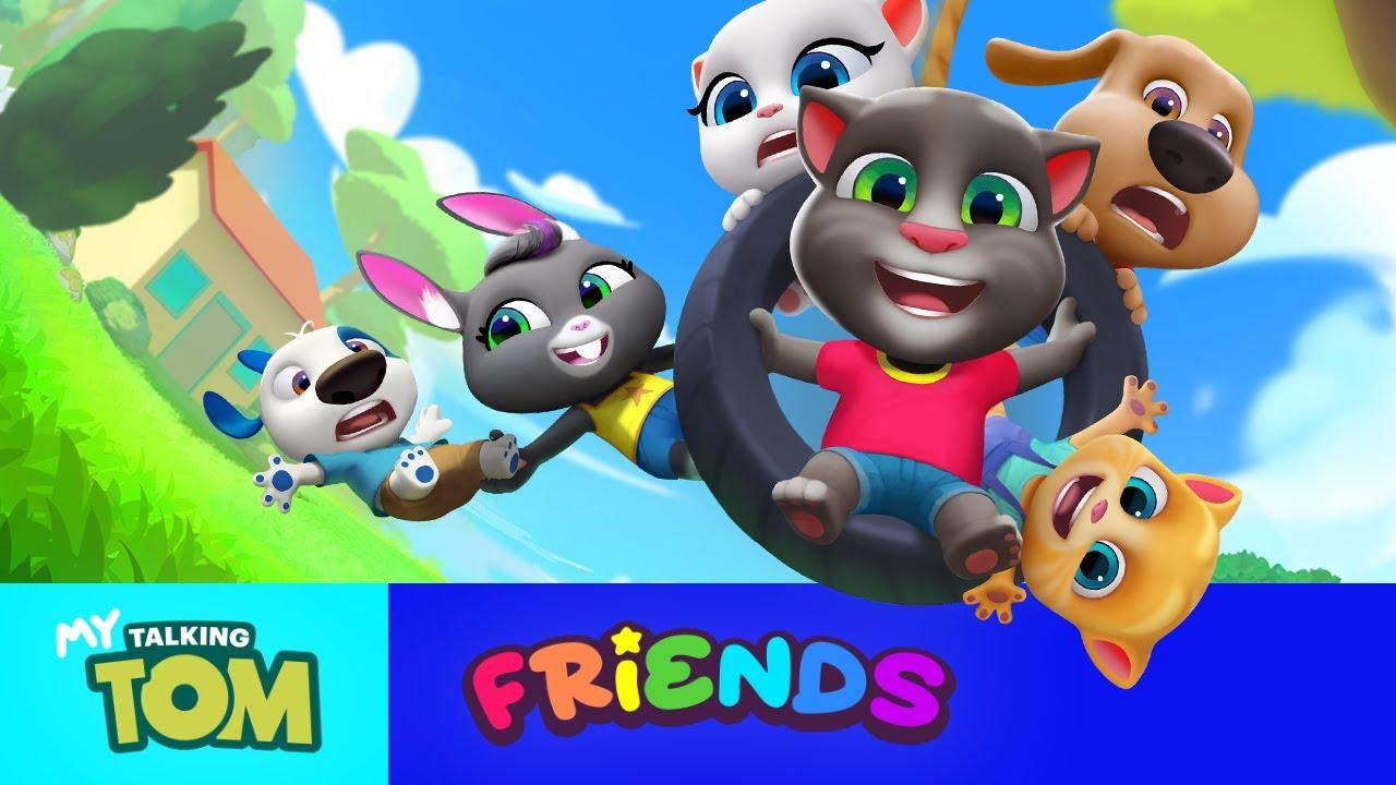 Игра My Talking Tom Friends набрала 7 млн предварительных регистраций за 6 дней