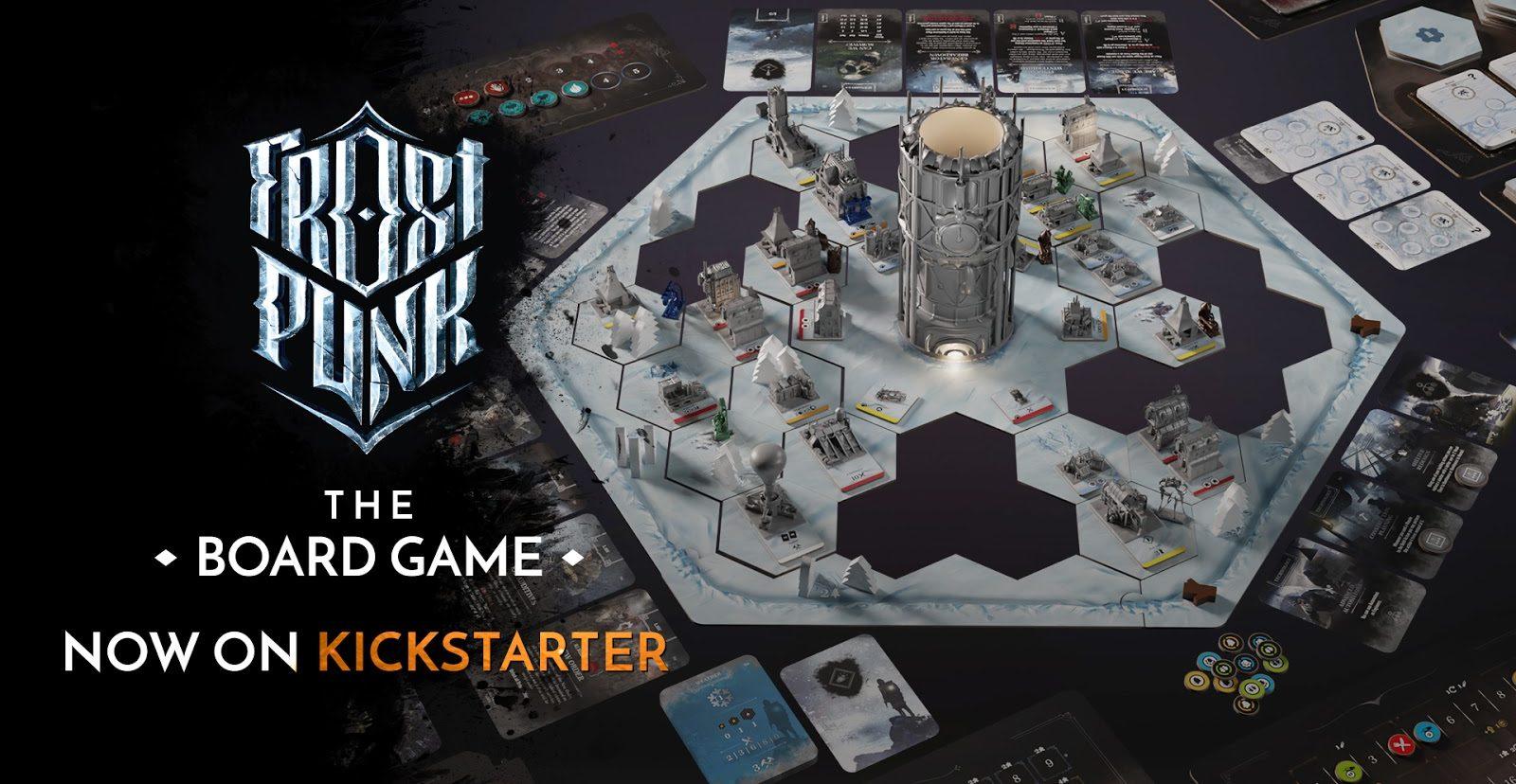 Разработчики Frostpunk: The Board Game собрали на Kickstarter 2,5 млн евро