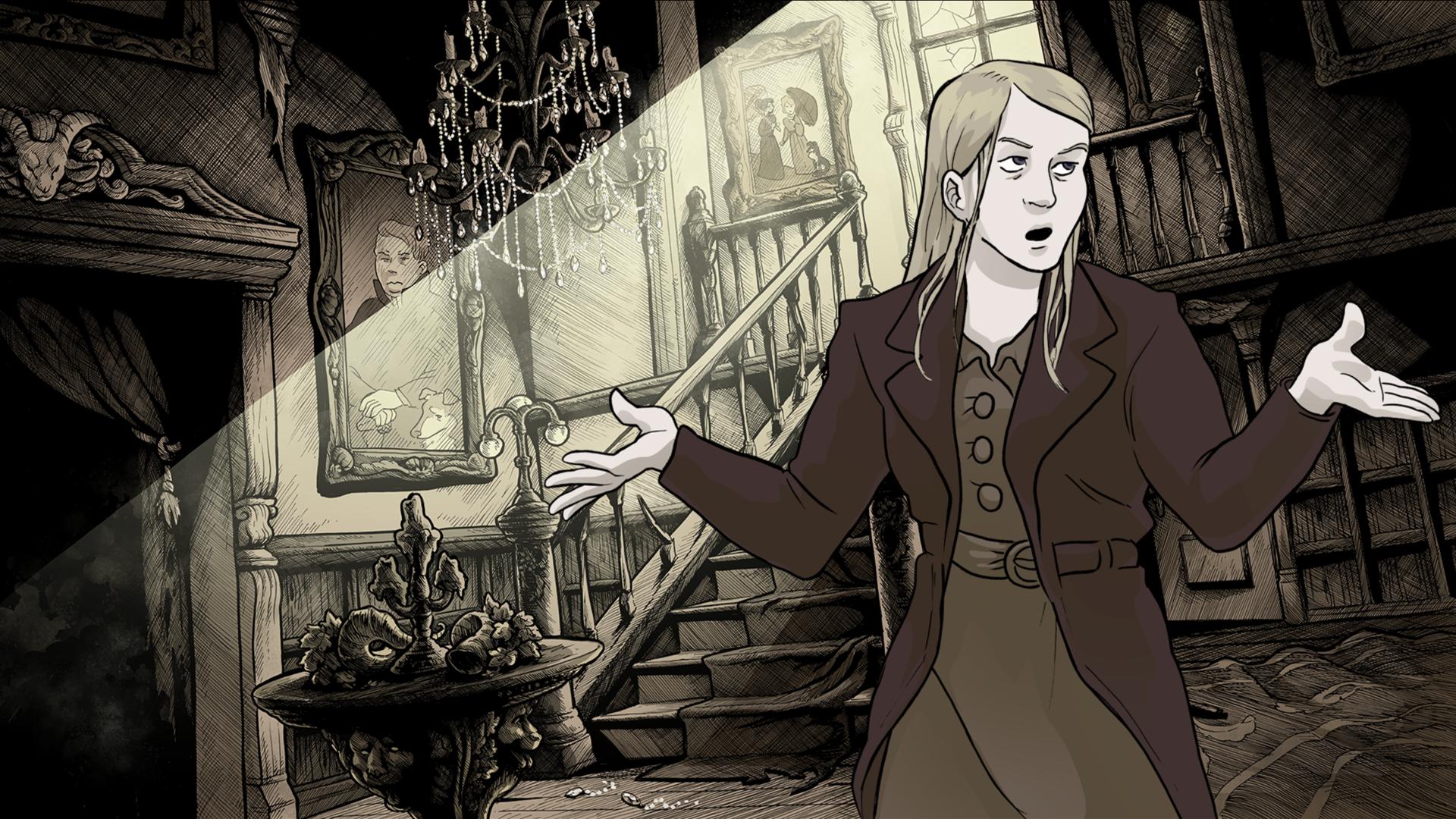 Abby Howard и Anthony Arias собрали на Kickstarter €43k на разработку визуальной новеллы в жанре хоррор